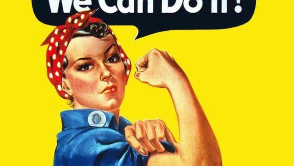 J. Howard Miller's We Can Do It! poster from 1943. - Sputnik International