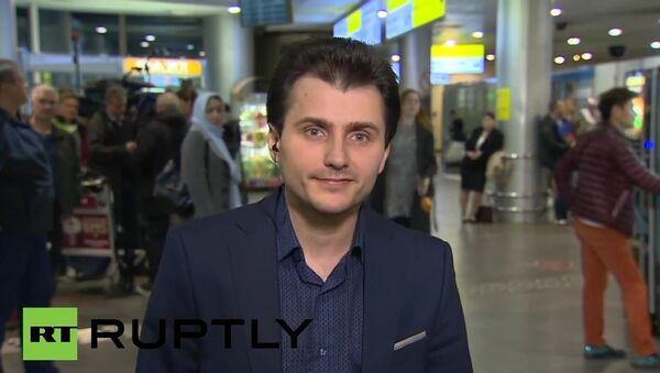 Sputnik's Turkish bureau chief Tural Kerimov is arrives in Moscow - Sputnik International