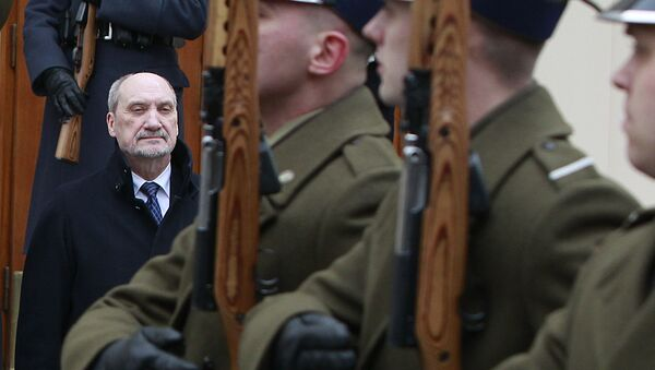 A file photo of Poland's Defense Minister Antoni Macierewicz - Sputnik International