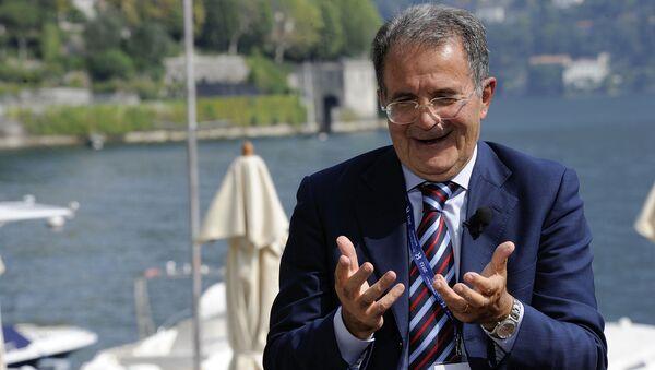 Former Italian Premier Romano Prodi (File) - Sputnik International