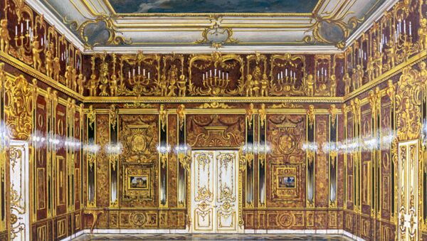 Reproduction of the model of the Amber Room - Sputnik International