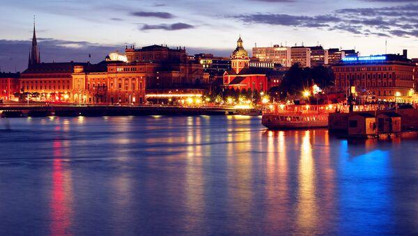 Evening in Stockholm - Sputnik International