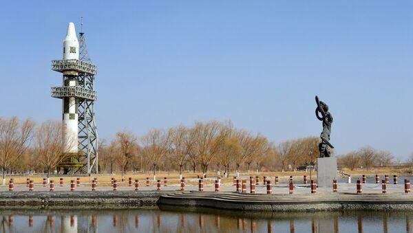 The remote Jiuquan Space Launch Center in Gansu province, China. - Sputnik International