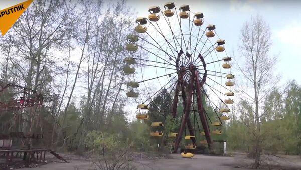Chernobyl 30's Anniversary: Workers Completing New Safe Confinement - Sputnik International