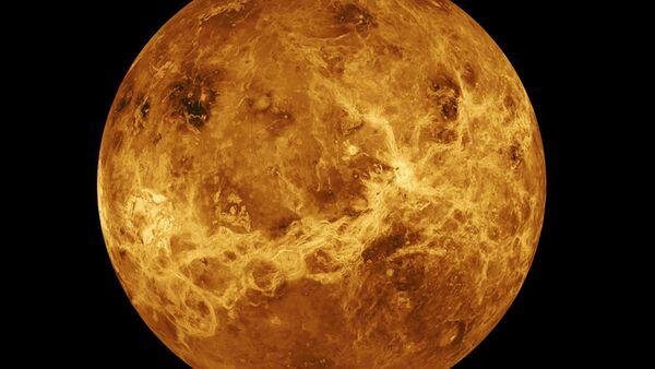 Computer Simulated Global View of Venus - Sputnik International