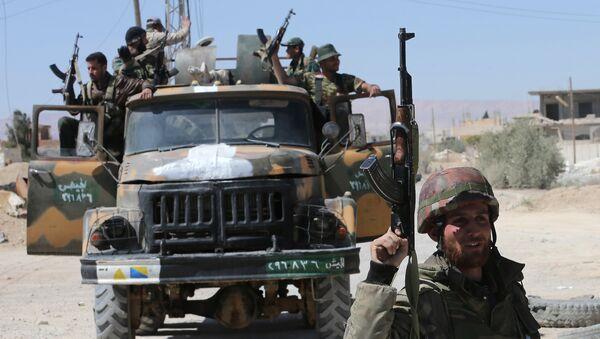 Syrian soldiers (File) - Sputnik International