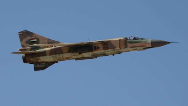 Syrian army's Mig-23 jet - Sputnik International