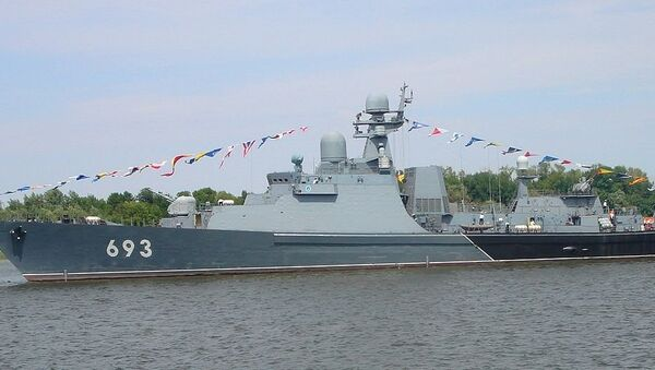 Gepard-class frigate Dagestan (ex-Albatros) - Sputnik International