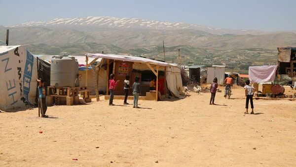 Lebanon refugees - Sputnik International