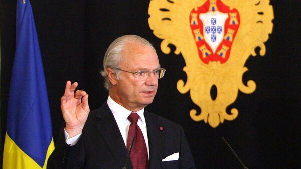 Swedish King Carl XVI Gustaf. (File) - Sputnik International