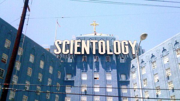 A Scientology building in Los Angeles - Sputnik International