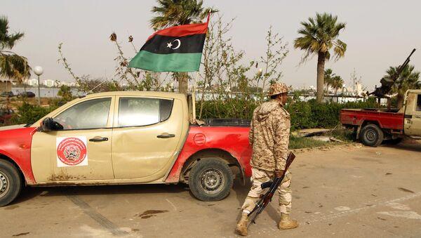 Libyan soldier - Sputnik International