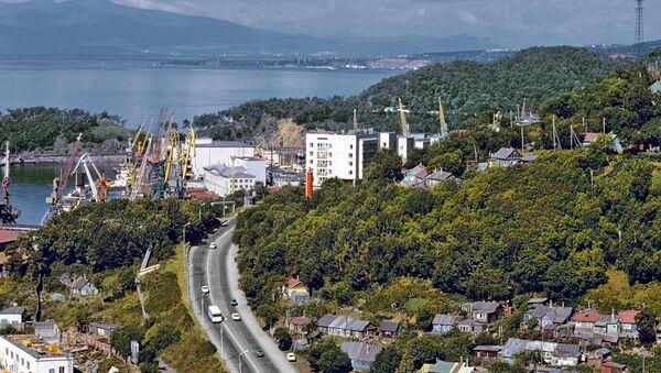 View of Petropavlovsk-Kamchatsky - Sputnik International