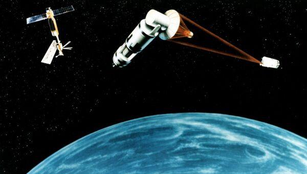 Space Laser Satellite Defense System Concept - Sputnik International