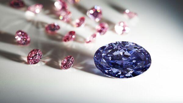 Violet diamond - Sputnik International