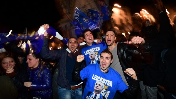 Leicester City FC wins Premiere League - Sputnik International