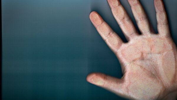 Finger scan - Sputnik International