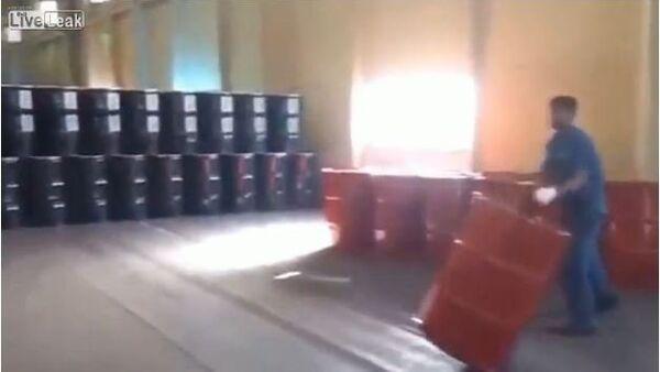 Moving Barrels - Sputnik International