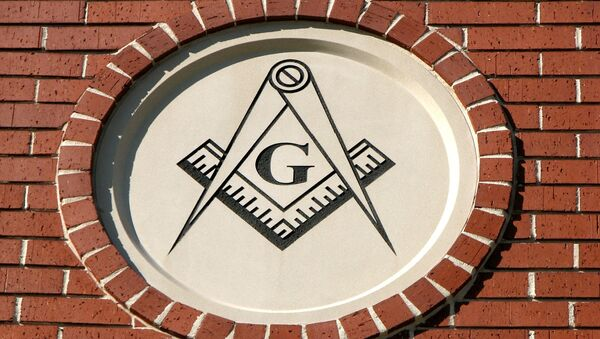 The Masonic Square and Compasses. - Sputnik International