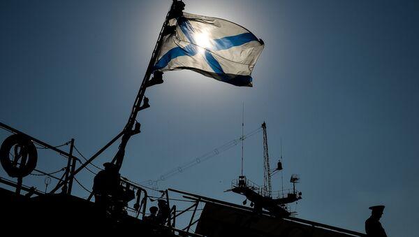 The escort ship Ladny prepares to sail to the Mediterreanean Sea - Sputnik International