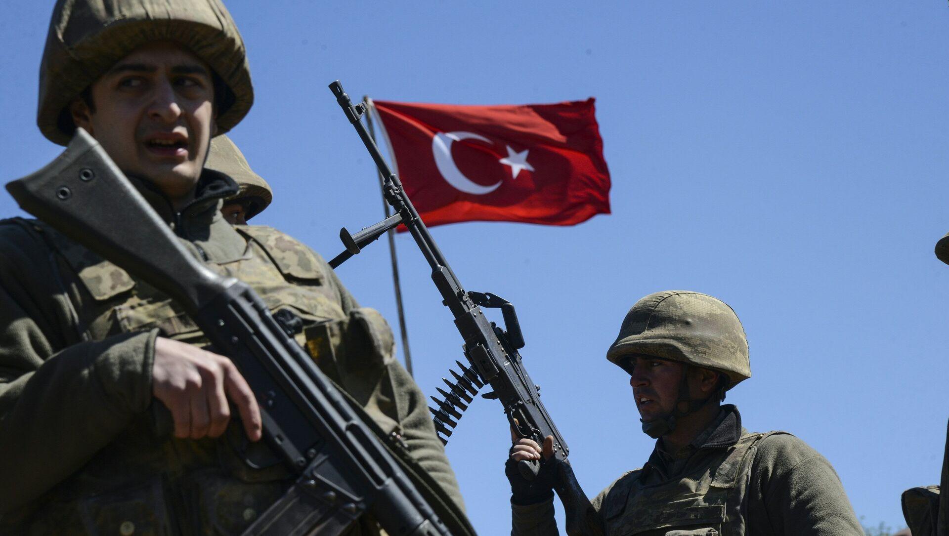 Turkish army soldiers - Sputnik International, 1920, 29.07.2021