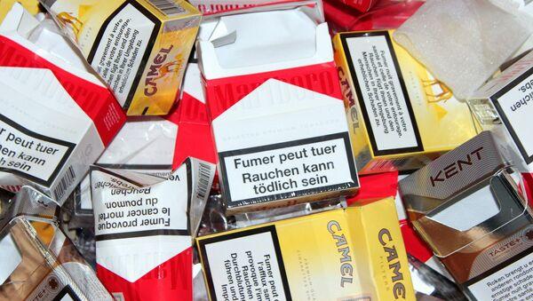 Cigarette packaging - Sputnik International
