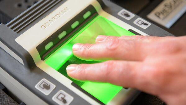 Fingerprint reader - Sputnik International