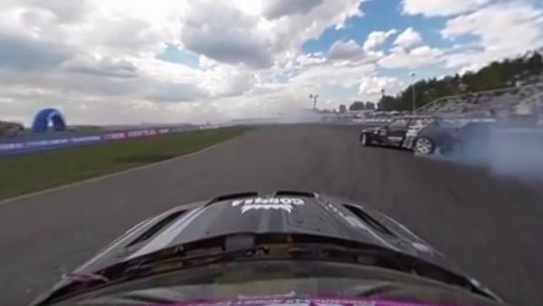 First Stage: 360 video of Russian Drift Series in Moscow region - Sputnik International