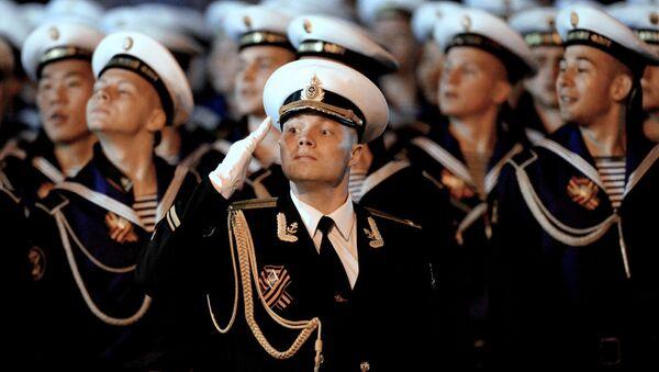 Victory Day parade rehearsal in Russian Vladivostok - Sputnik International