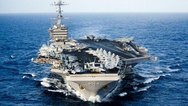 USS John C. Stennis - Sputnik International