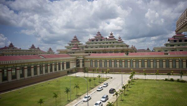 Parliament Building of Myanmar - Sputnik International