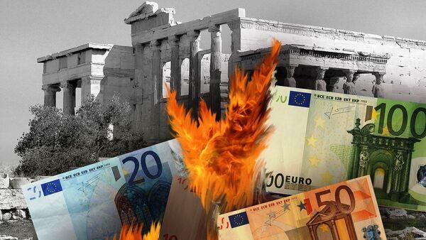 Financial crisis in Greece - Sputnik International