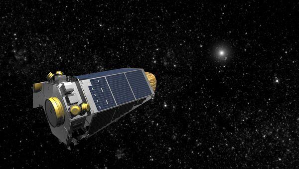 NASA's Kepler spacecraft is seen in an undated artist's rendering - Sputnik International