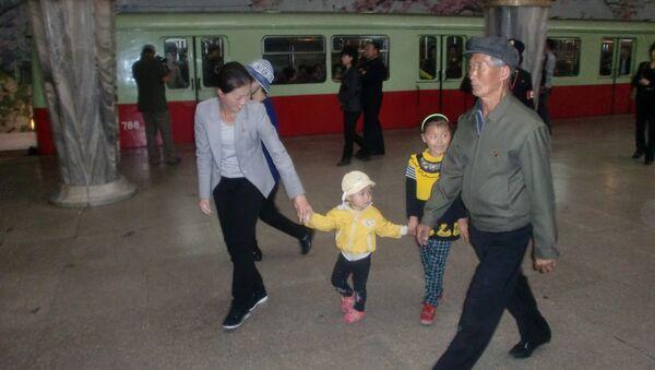 Pyongyang Metro - Sputnik International