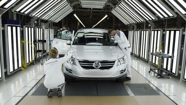Volkswagen Rus Group launching full-cycle production of cars in Kaluga - Sputnik International