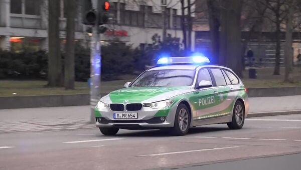 German BMW police car - Sputnik International