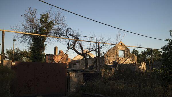 Vesyoloye village in Donetsk Region - Sputnik International