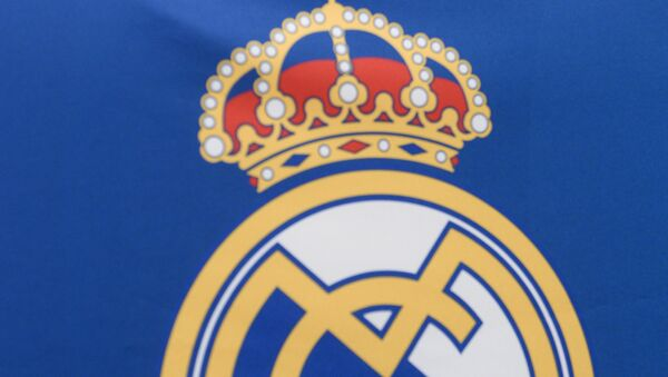 Real Madrid logo - Sputnik International