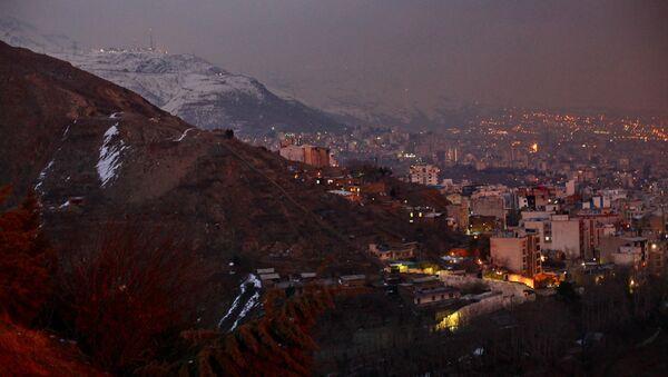 Tehran at night - Sputnik International