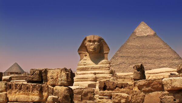 Giza Pyramids & Sphinx - Egypt - Sputnik International