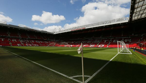 Britain Soccer Football - Manchester United v AFC Bournemouth - Barclays Premier League - Old Trafford - 15/5/16 General view inside the ground before the game - Sputnik International