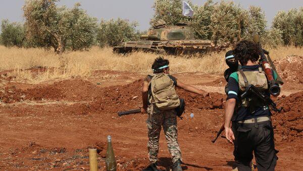 Rebel forces from Jaysh al-Islam (Army of Islam) (File) - Sputnik International