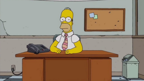 Homer Simpson live Q&A - Sputnik International