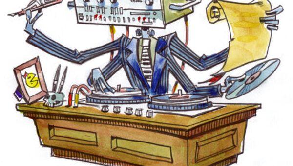 Robot: Lawyer, writer, house music - Sputnik International