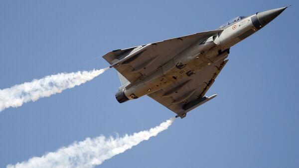 Tejas, an Indian Air Force light combat aircraft (File) - Sputnik International