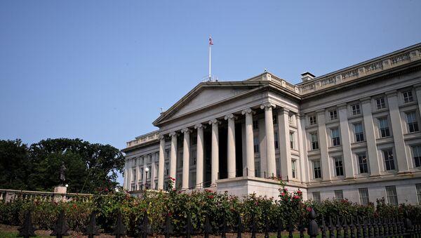 The US Treasury Department - Sputnik International