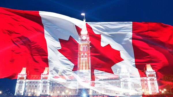 Canadian flag - Sputnik International