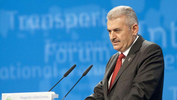 Turkey's Minister of Transport Binali Yildirim (File) - Sputnik International