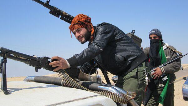 Libyan rebels in 2011 - Sputnik International