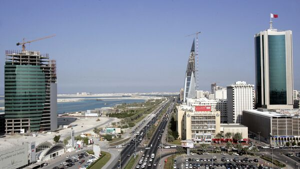 A general view shows the Bahraini Chamber of Commerce and Industry (C) in Manama (File) - Sputnik International